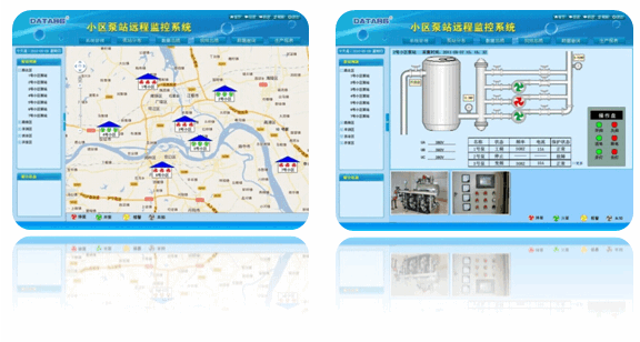 二次供水监控系统 二次供水远程监控 小区二次供水监控系统 二次供水监测 自来水二次供水监控 小区加压泵站远程监控系统