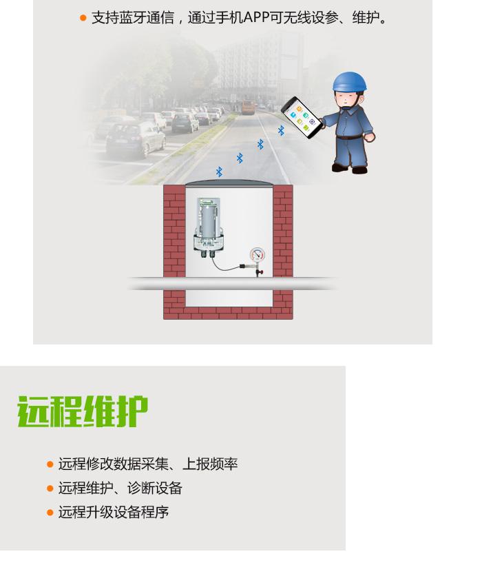 NB-IoT无线压力变送器远程维护
