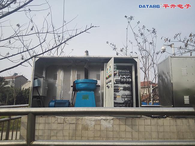 城市内河闸口远程监控系统闸口监控现场