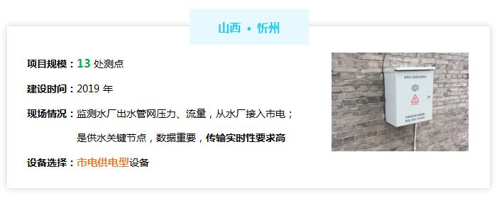 管网信息化管理系统——山西忻州案例