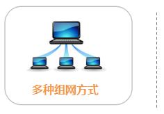 低功耗型遥测终端机RTU,产品特点,多种组网方式