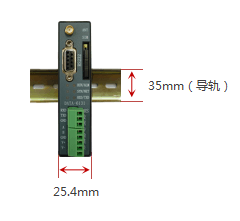 工业级4G RTU(简易版)安装方式