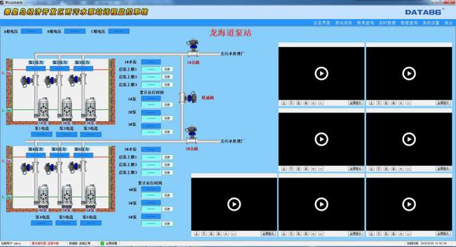 秦皇岛雨污水泵站无人值守监控系统监控软件