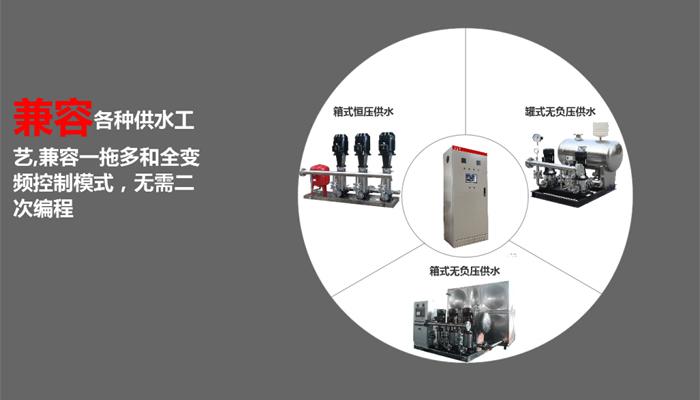 智能二次供水变频控制柜产品特点兼容强