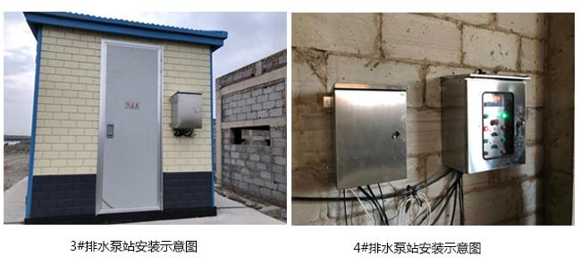 排水泵站安装示意图