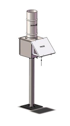 一体化雨量监测站